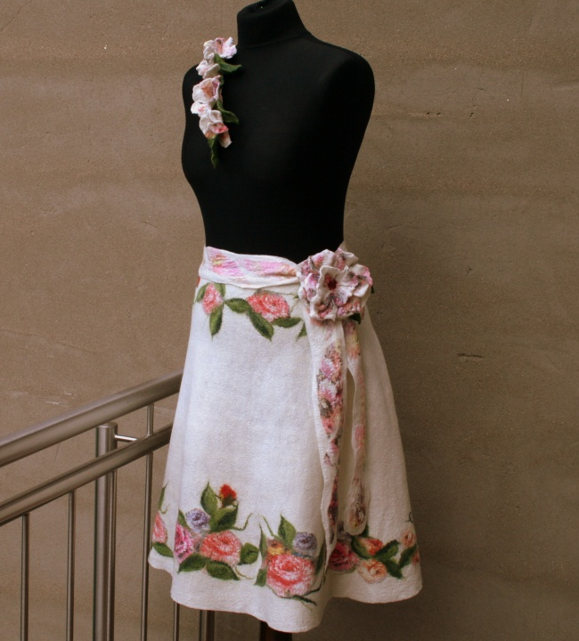Veltas sijonas ,,Vasaros žiedai ,,