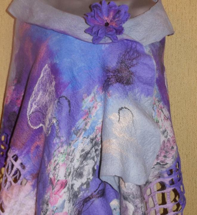 veltinio skraistė alyvinės ,violetinės spalvos
