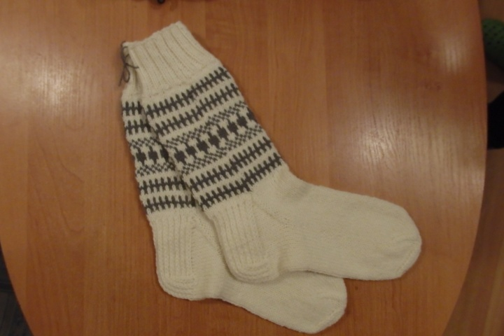 vilnones kojines