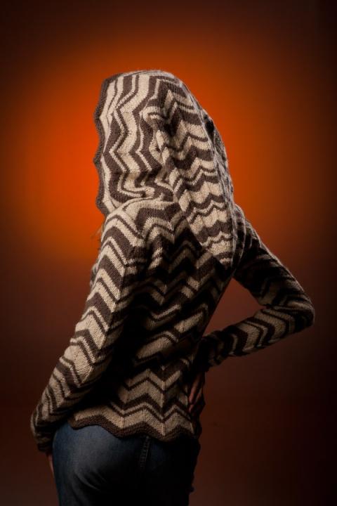 Zigzaginis megztinis