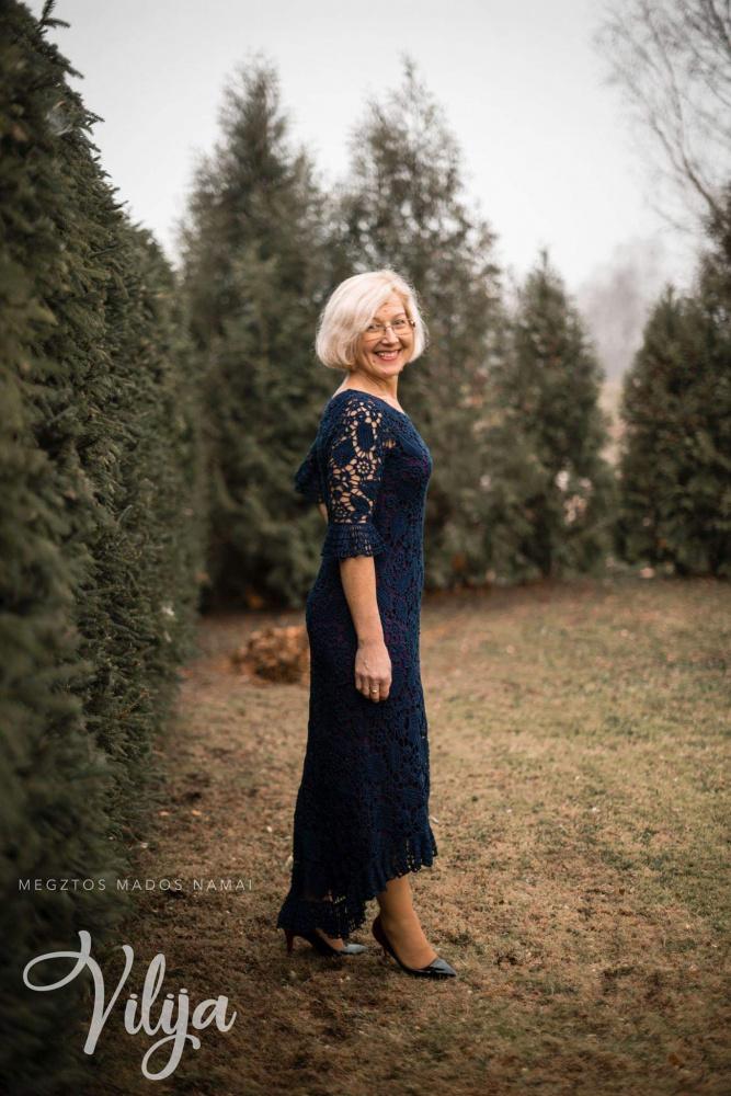 airiškų nėrinių suknelė VILTIS