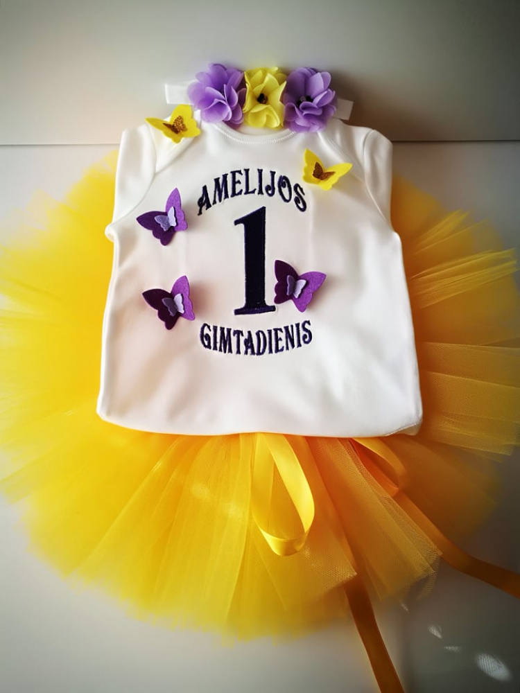 Amelijos 1 gimtadienio komplektas