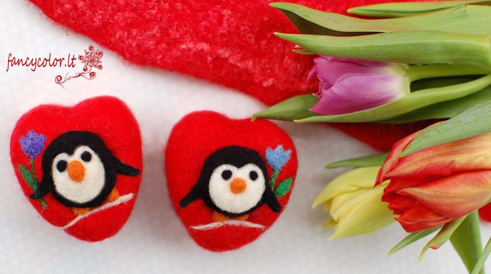Apvelti muiliukai - plaušinės  Valentino dovana