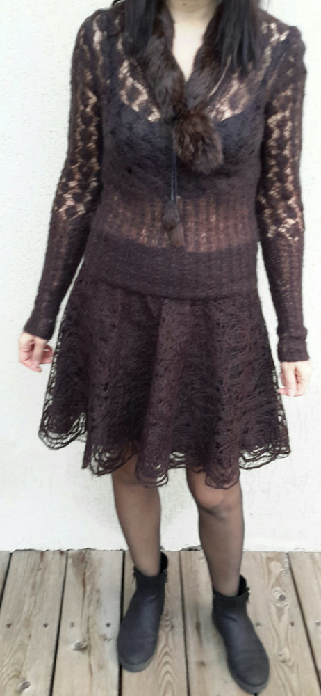 Ažūrinis sijonas