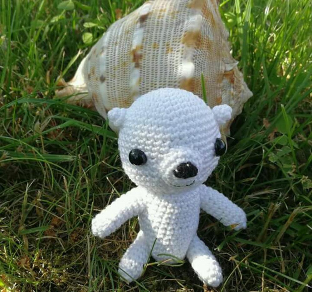 Baltoji meškutė, žaislas