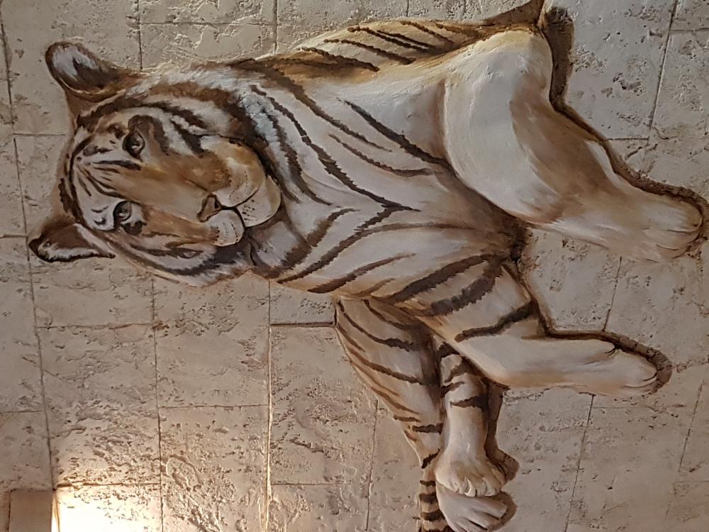 Bareljefas Tigras