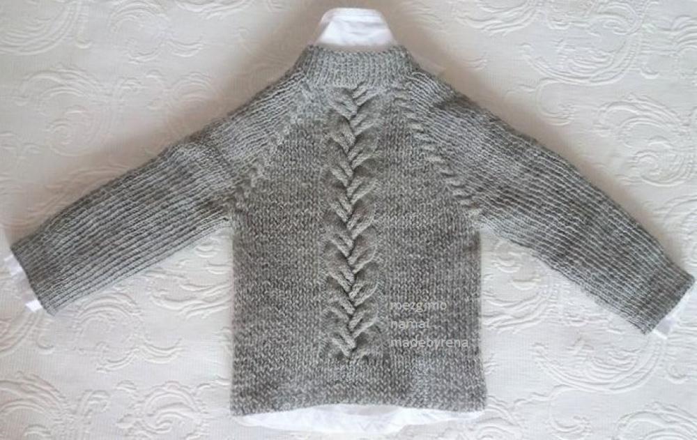 besiūlis megztinis mažyliui