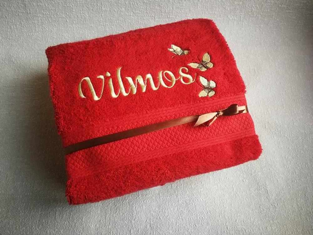 Dar vis ieškot dovanos - siuvinėti rankšluoščiai tinka ir mažiems, ir dideliems ...