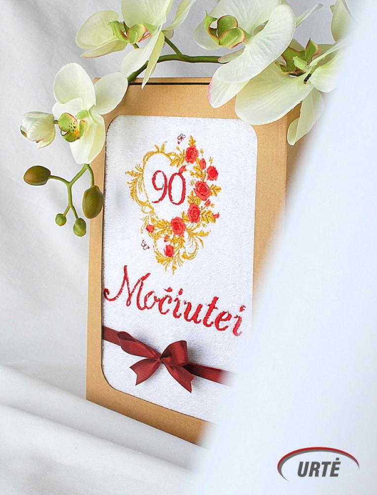 Dovana močiutei 90 metų jubiliejaus proga!