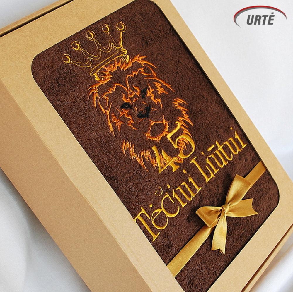 Dovana tėčiui 45 metų jubiliejaus proga! Liūtas karalius