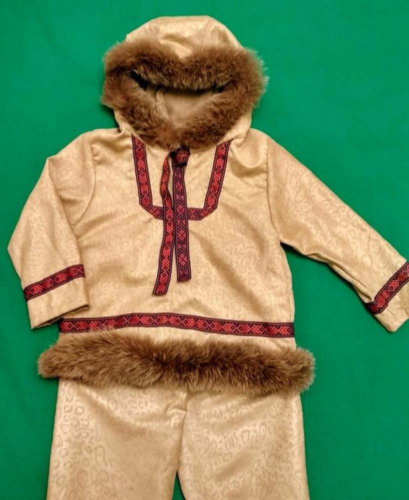 Eskimo karnavalinis kostiumas