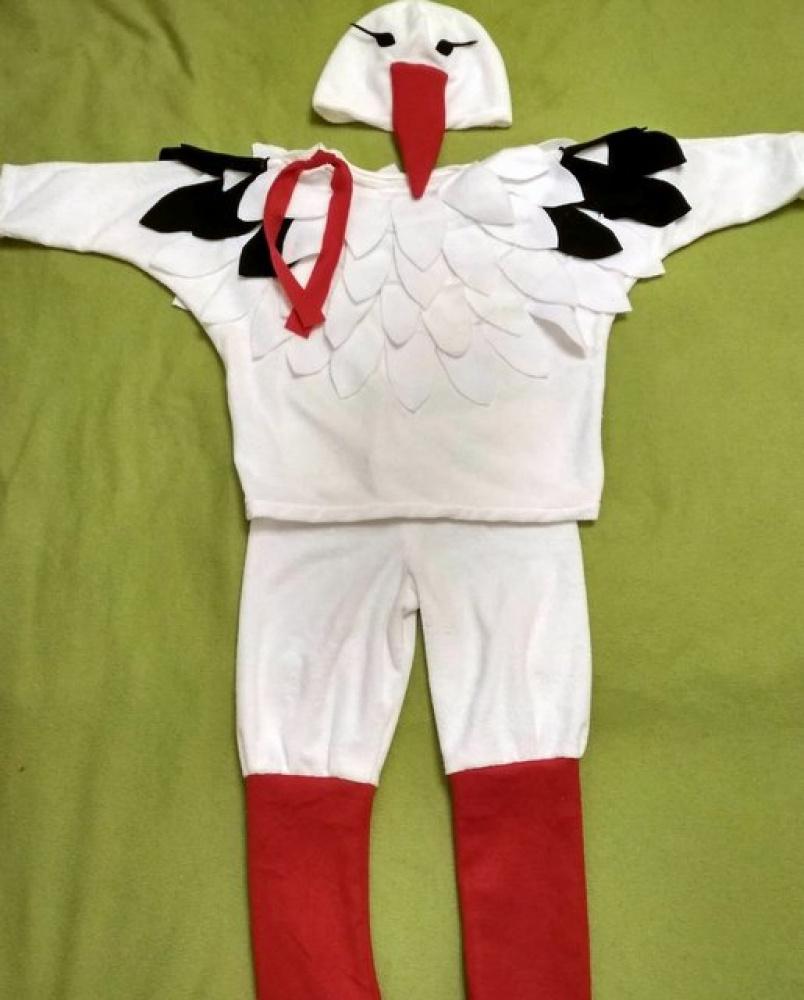 Gandro, gandriuko karnavalinis kostiumas
