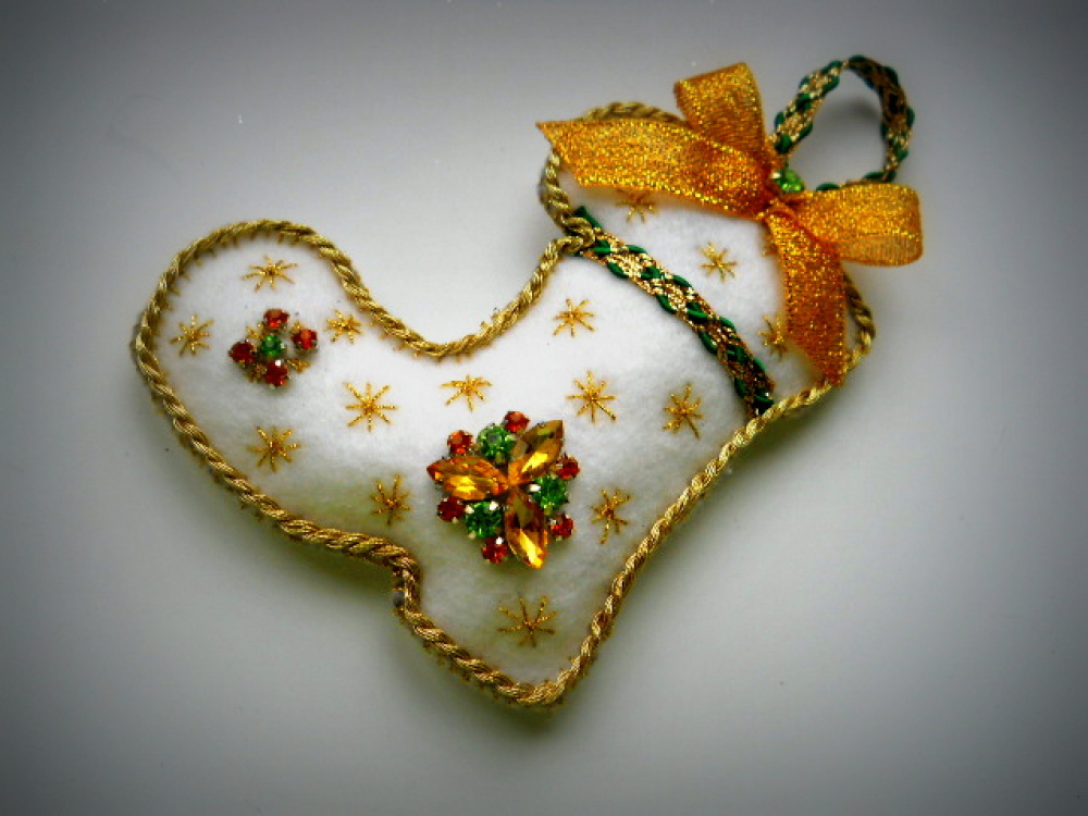 "Kalėdinė dekoracija ""Batas"""