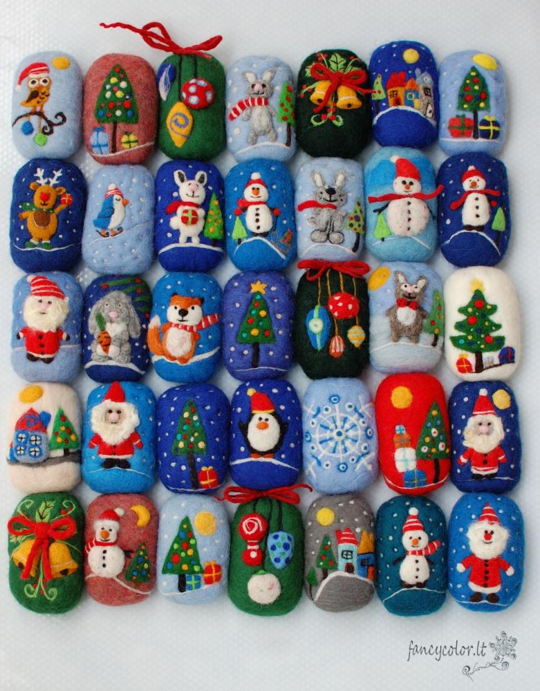 Kalėdiniai muiliukai- plaušinės