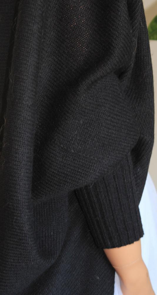 Kardiganas juodas