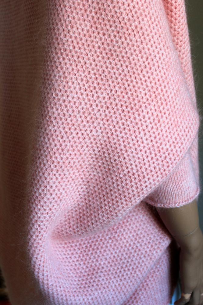 Kardiganas rožinis