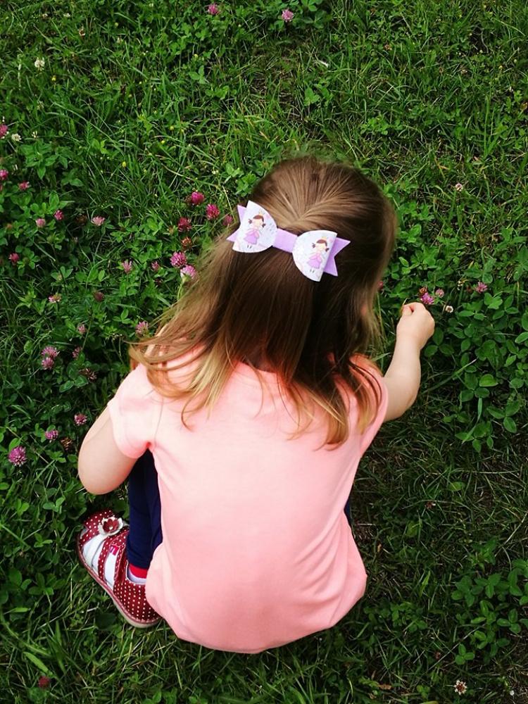 Kaspinėliai - segtukai į plaukus mergytėms
