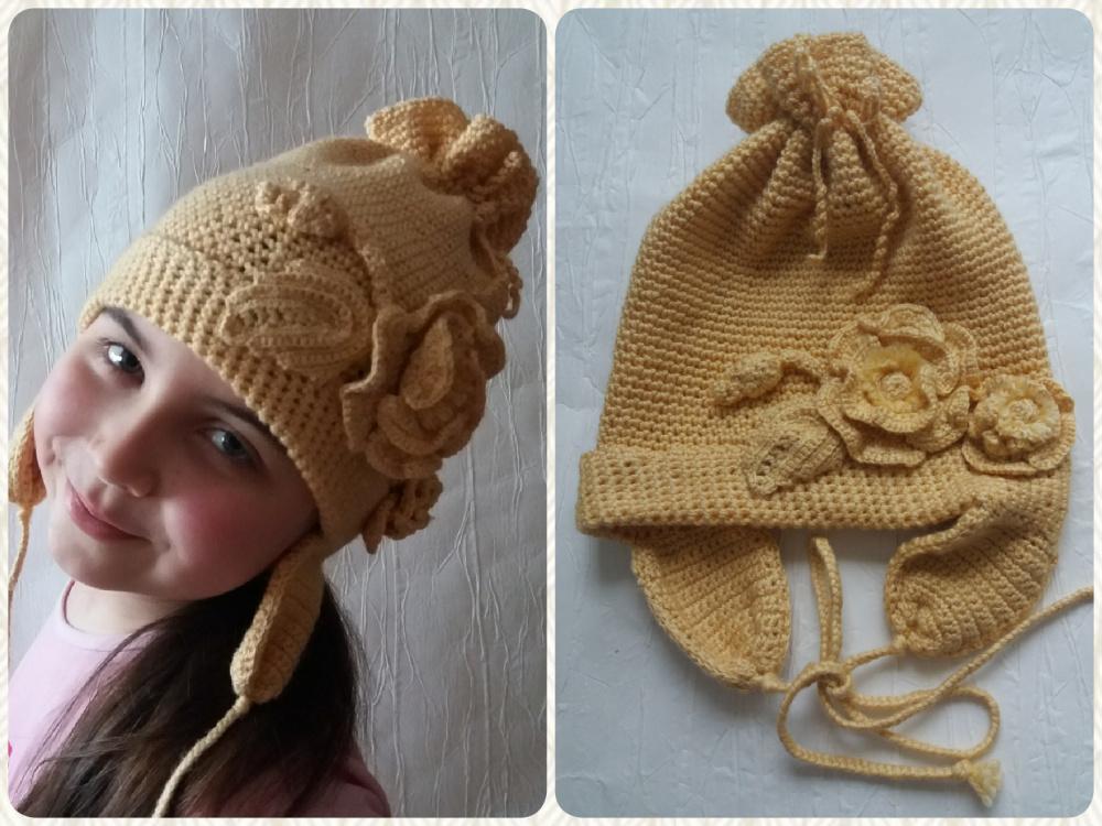 Kepurėlė dukrelei