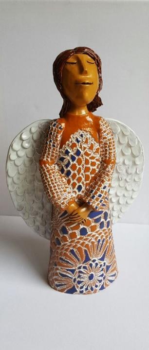 Keramikos angelas Laukimas