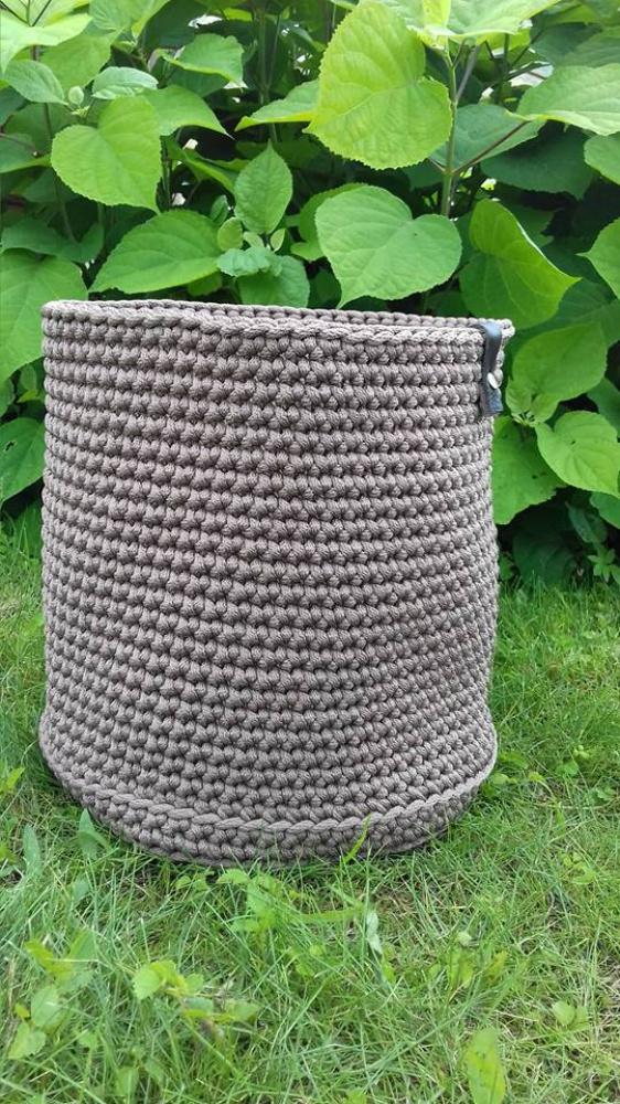 Krepšys iš virvės
