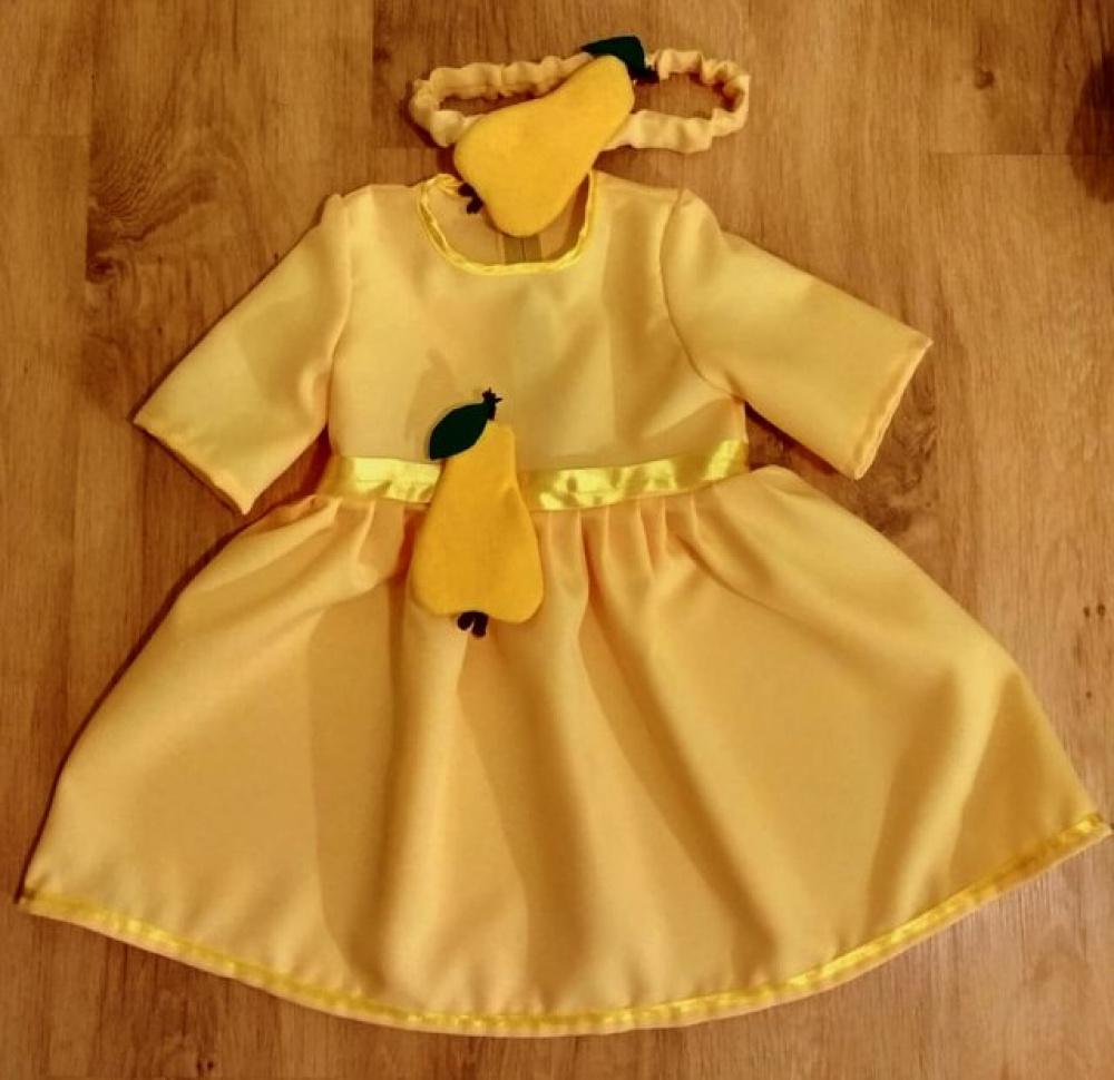 Kriaušės karnavalinis kostiumas mergaitei 2