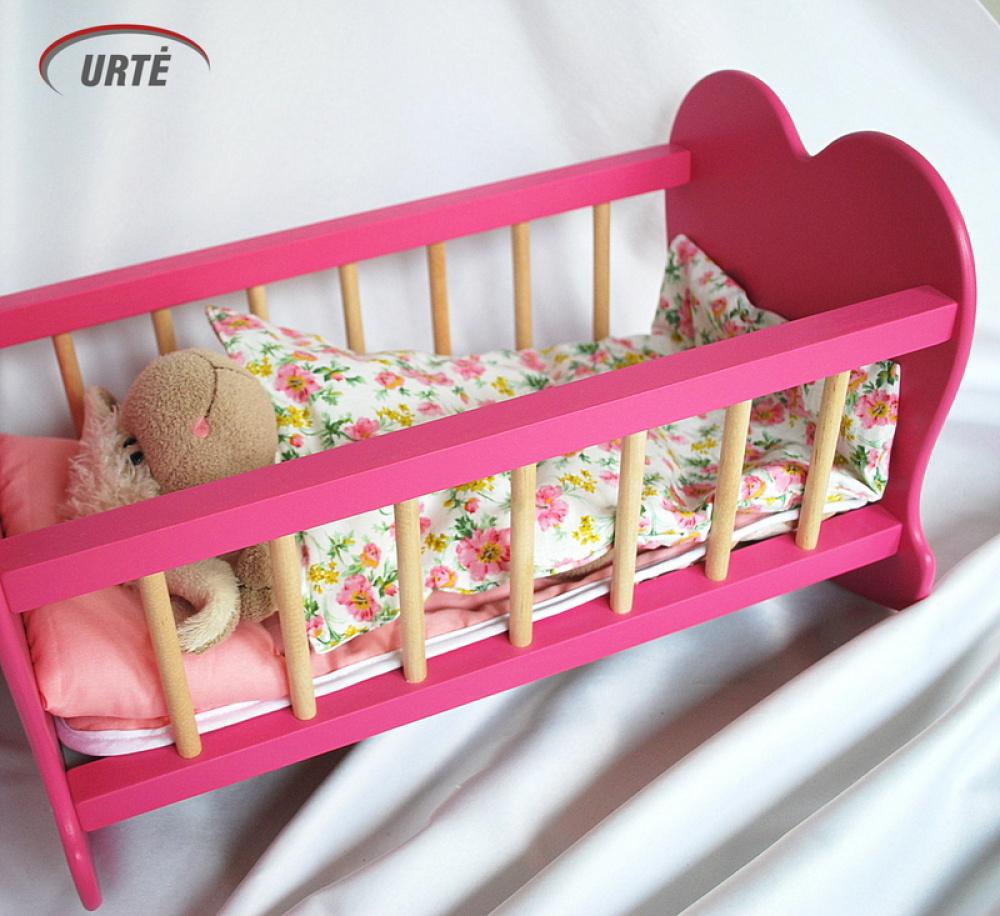 Lelytės pataliukai labai mažai lovytei