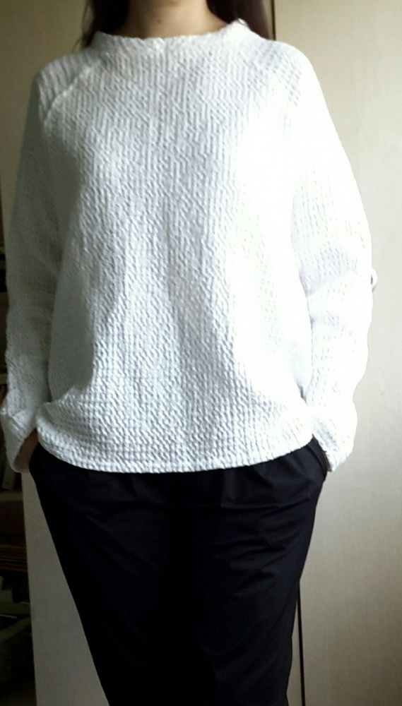 Lininė balta palaidinė