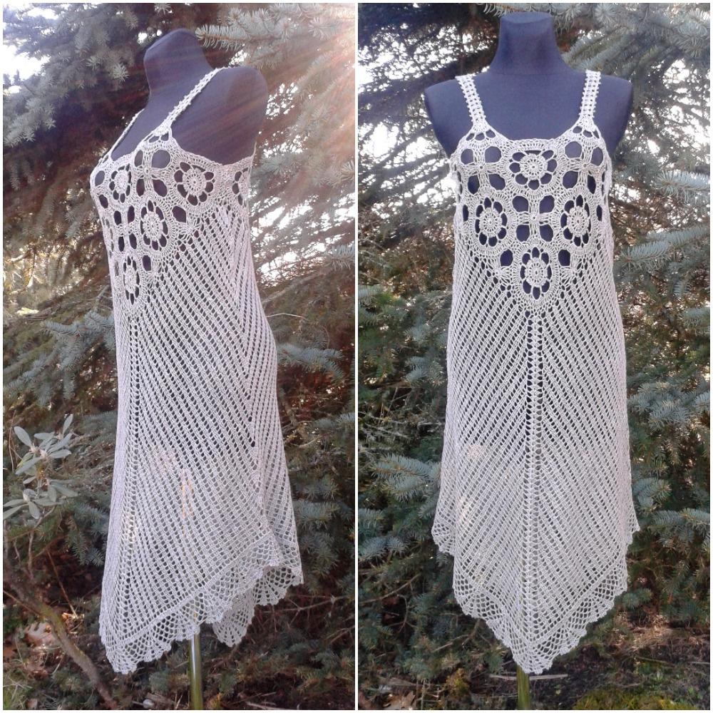 Lininė nerta suknelė