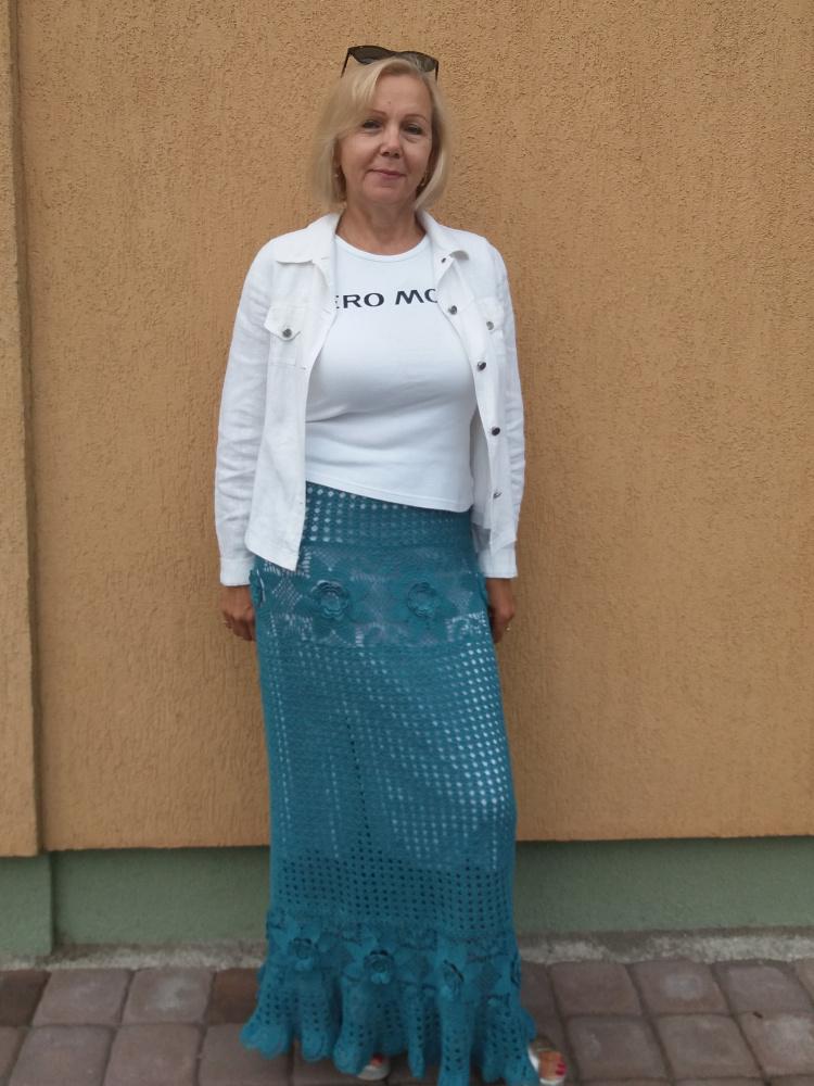 lininis sijonas