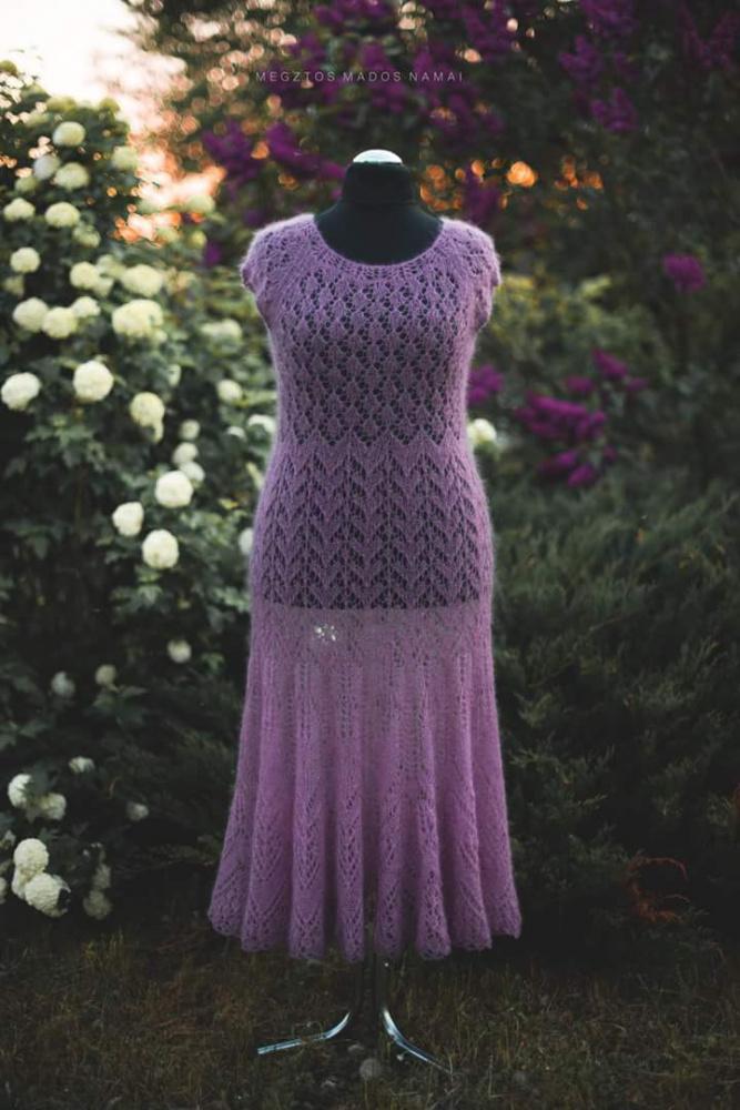 """Megzta suknelė,,Pavasarinis dvelksmas"""""""