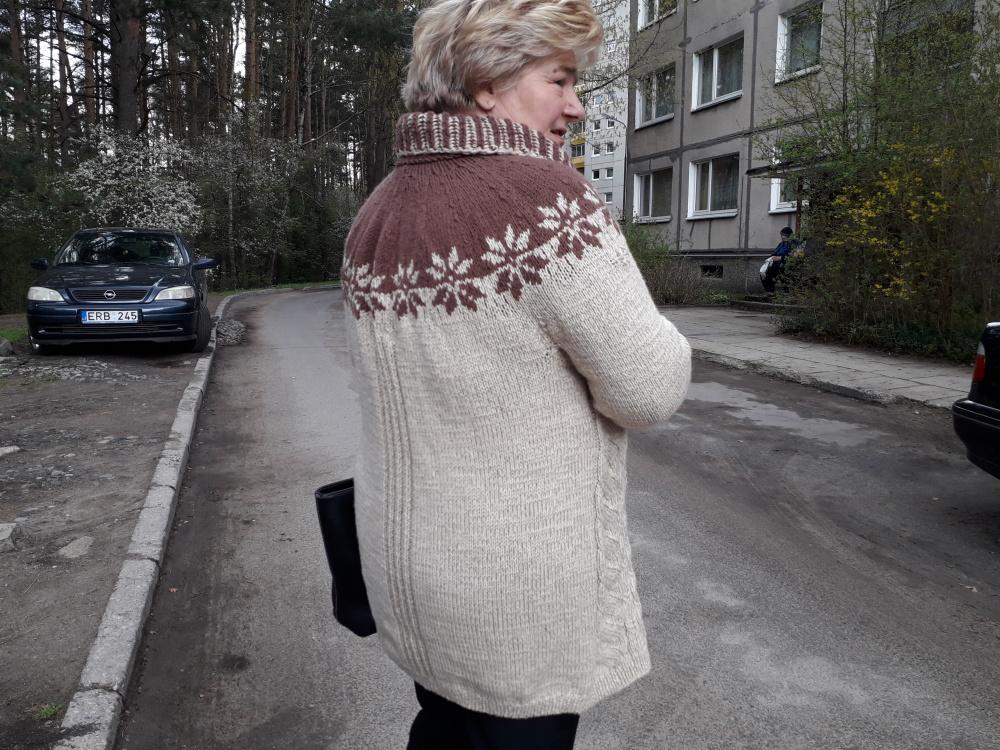 """Megztinis """"Takeliai į žvaigždes"""""""
