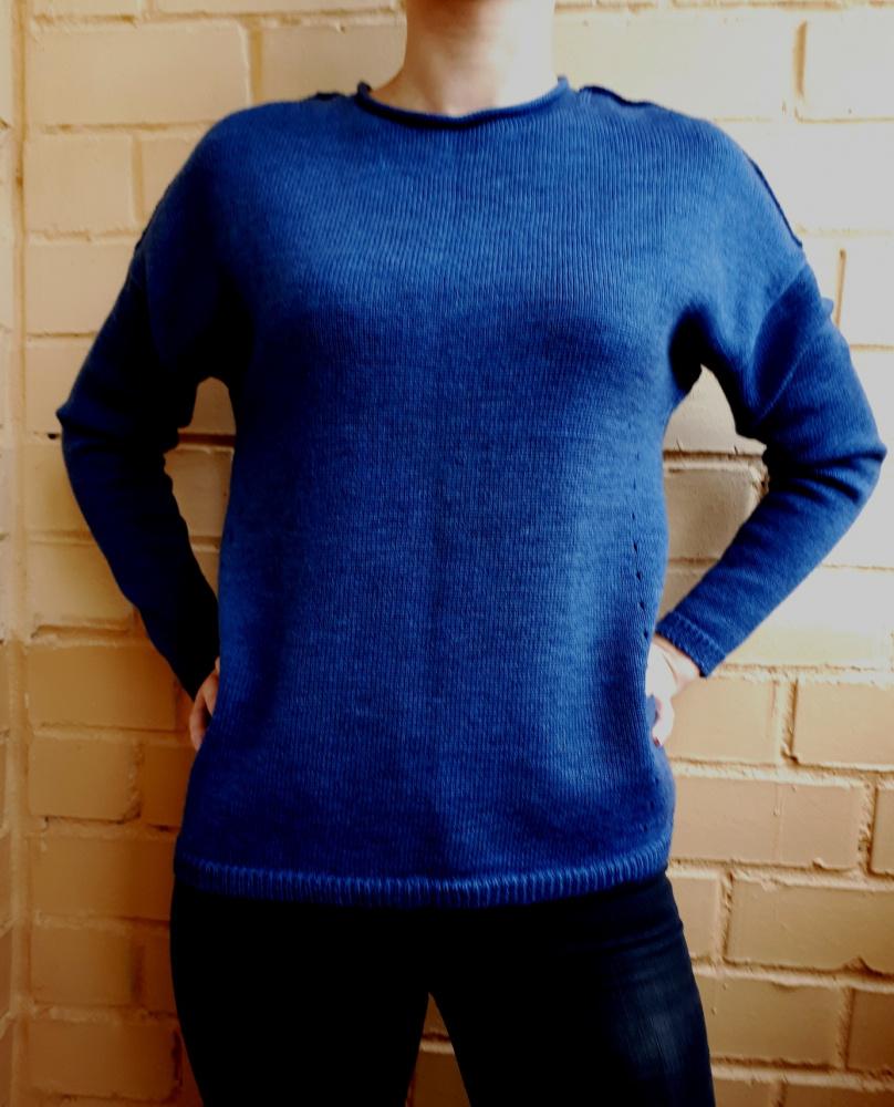 """Megztinis - tunika """"BLUE DREAM"""""""