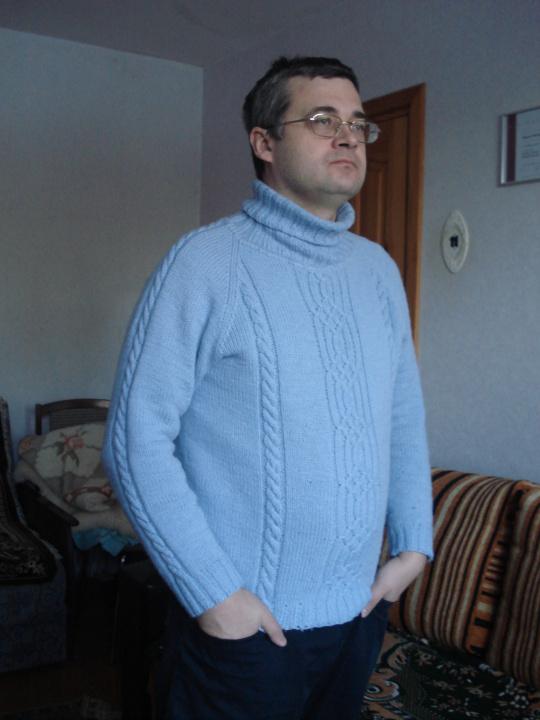 """Megztinis vyriškas megztas virbalais """"Linijos"""""""