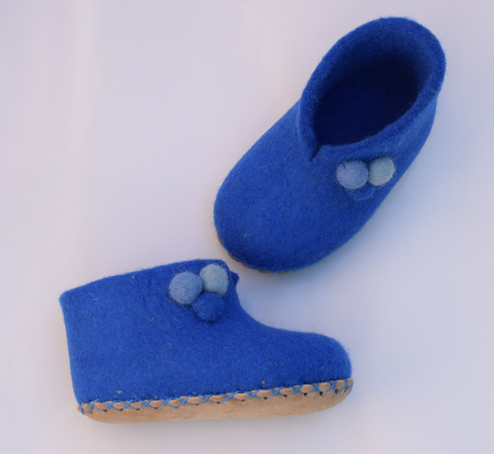 Mėlyni bumbuliukai