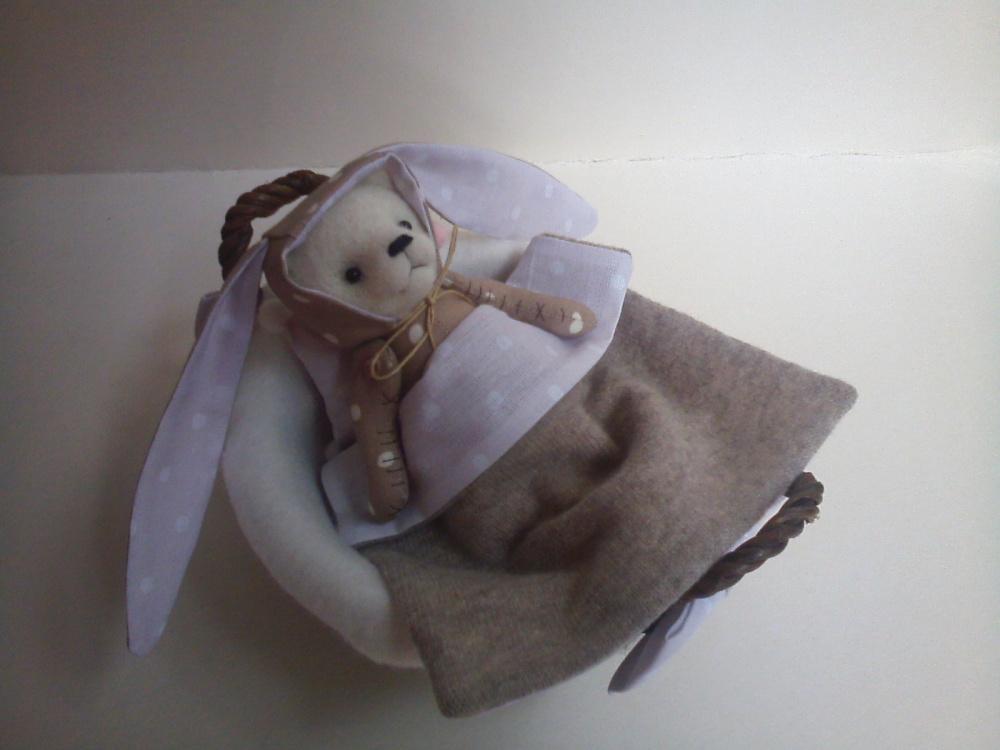 meškiukas krepšelyje