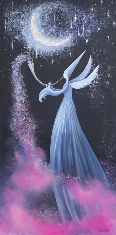 Nakties angelo burtai 50x100