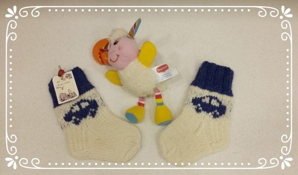 Naujos įvairiaspalvės kojinaitės kūdikiams.