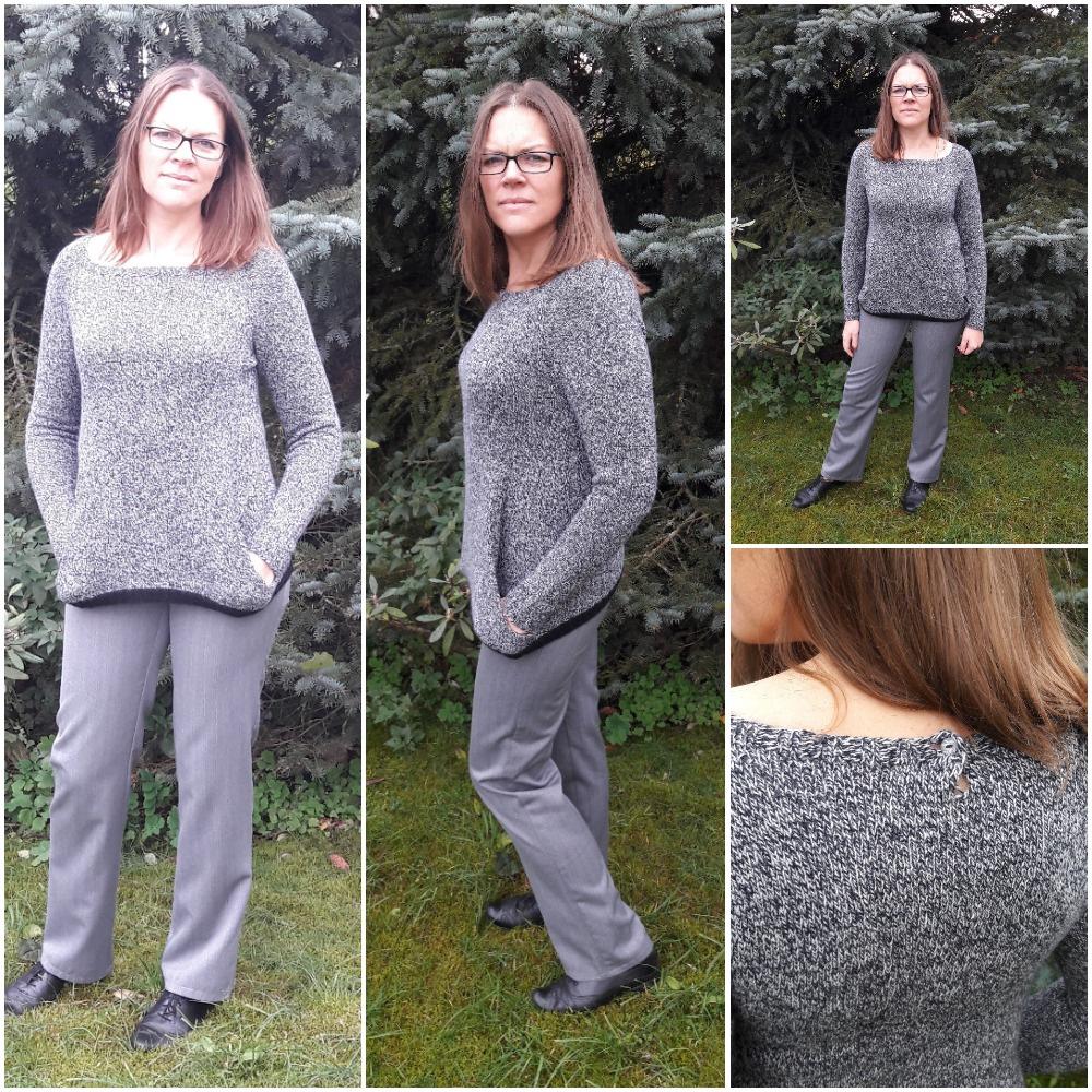 Pilkas megztinis