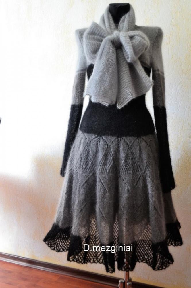 pilkoji suknele