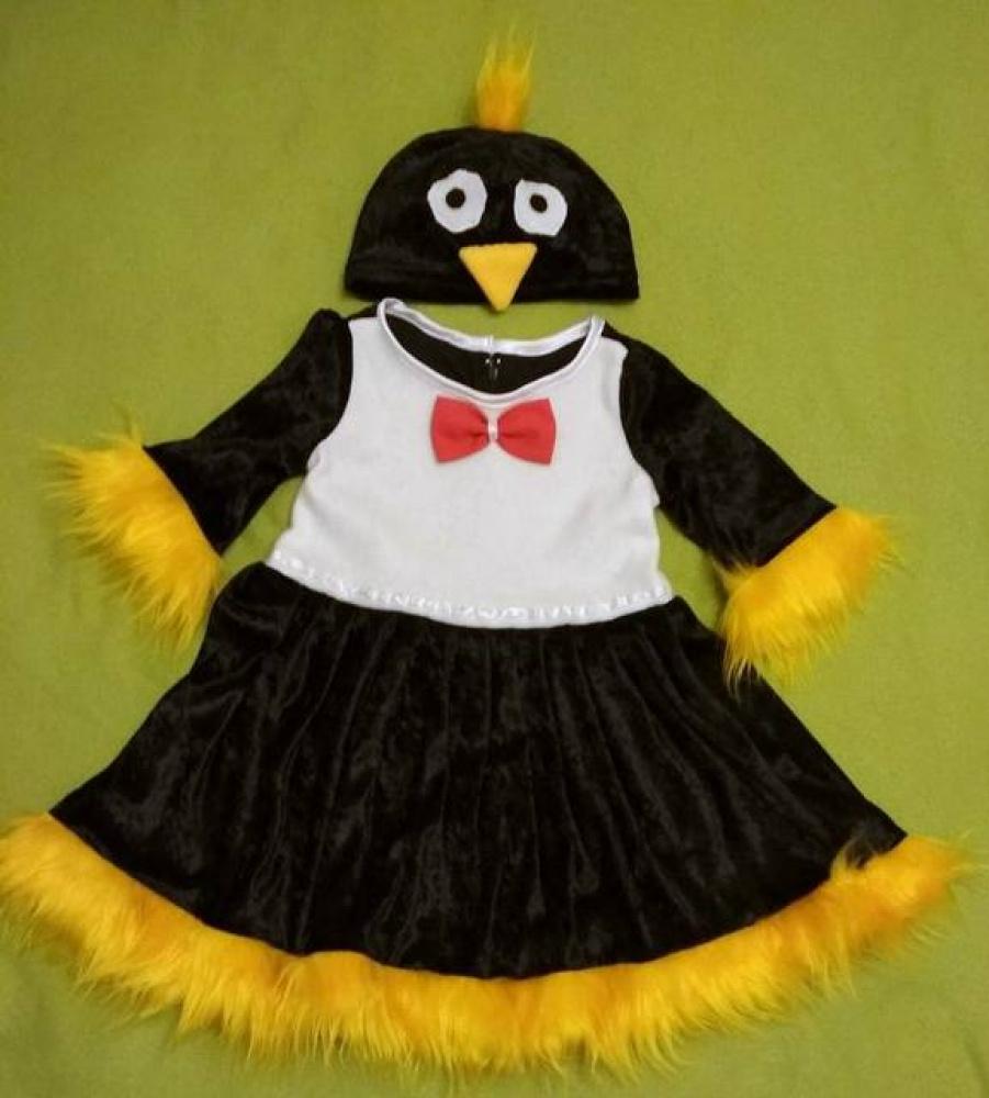 Pingvinukės karnavalinis kostiumas