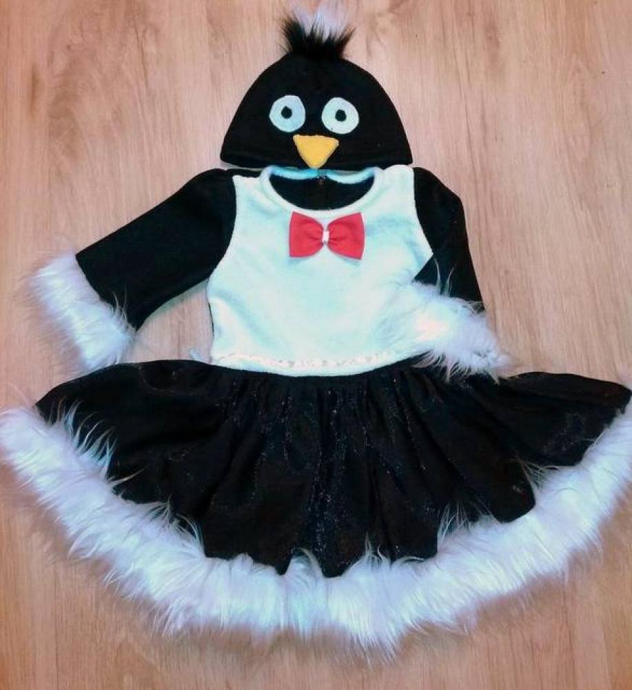 Pingvinukės karnavalinis kostiumas *