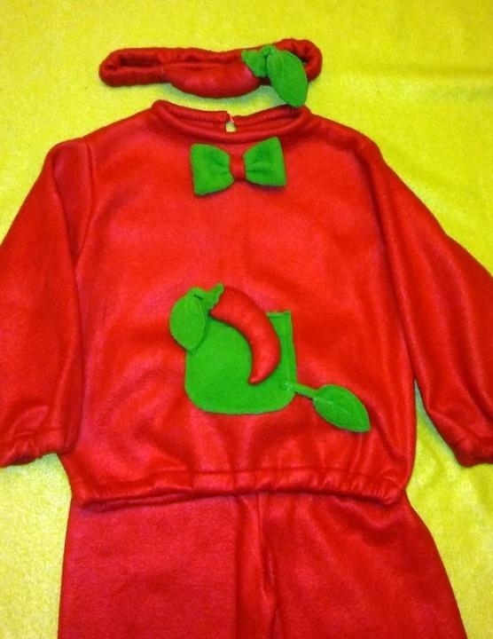 Pipiro, pipiriuko kostiumas