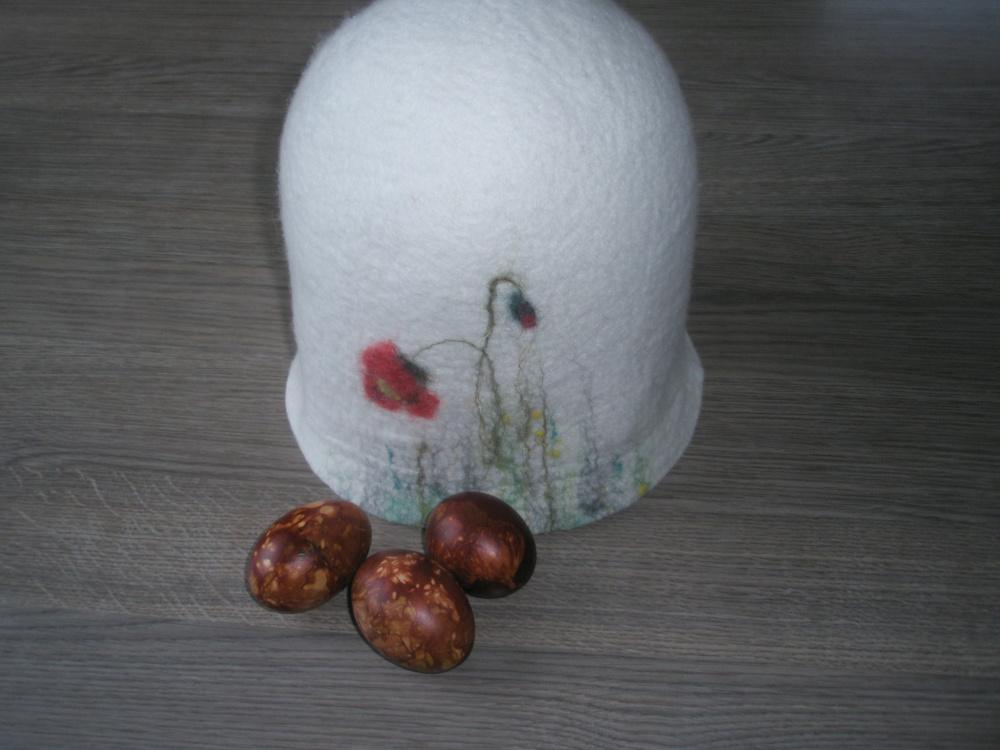 pirties kepurė   gėlinė