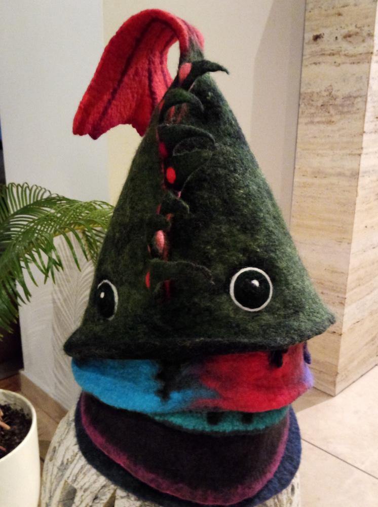 Pirties kepurė žuvytė