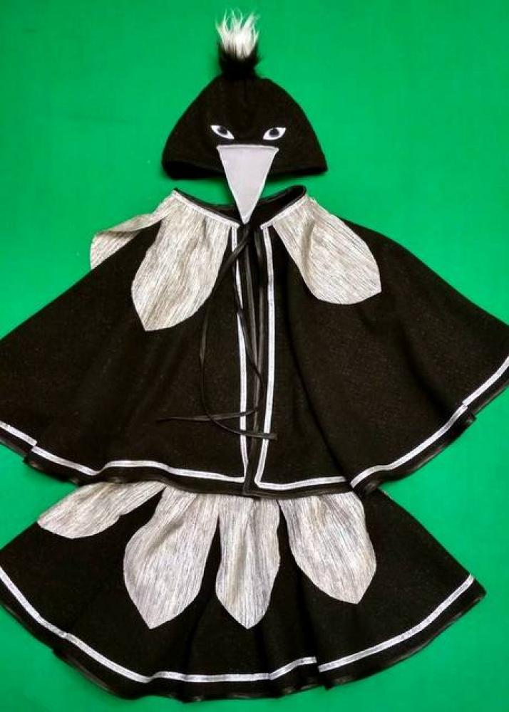 Šarkos karnavalinis kostiumas mergaitei