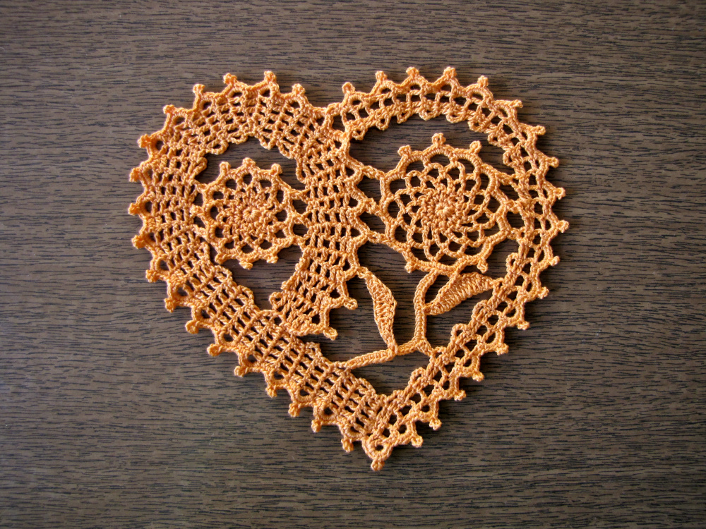 Servetėlė - širdelė