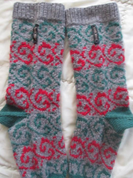 Šiltos raštuotos kojinės