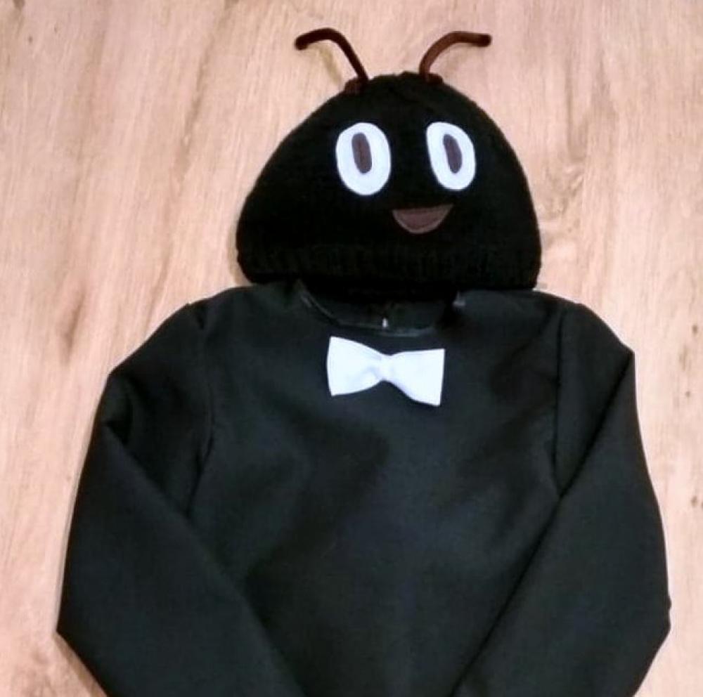 Skruzdėliuko, vabaliuko vaikiškas karnavalinis kostiumas