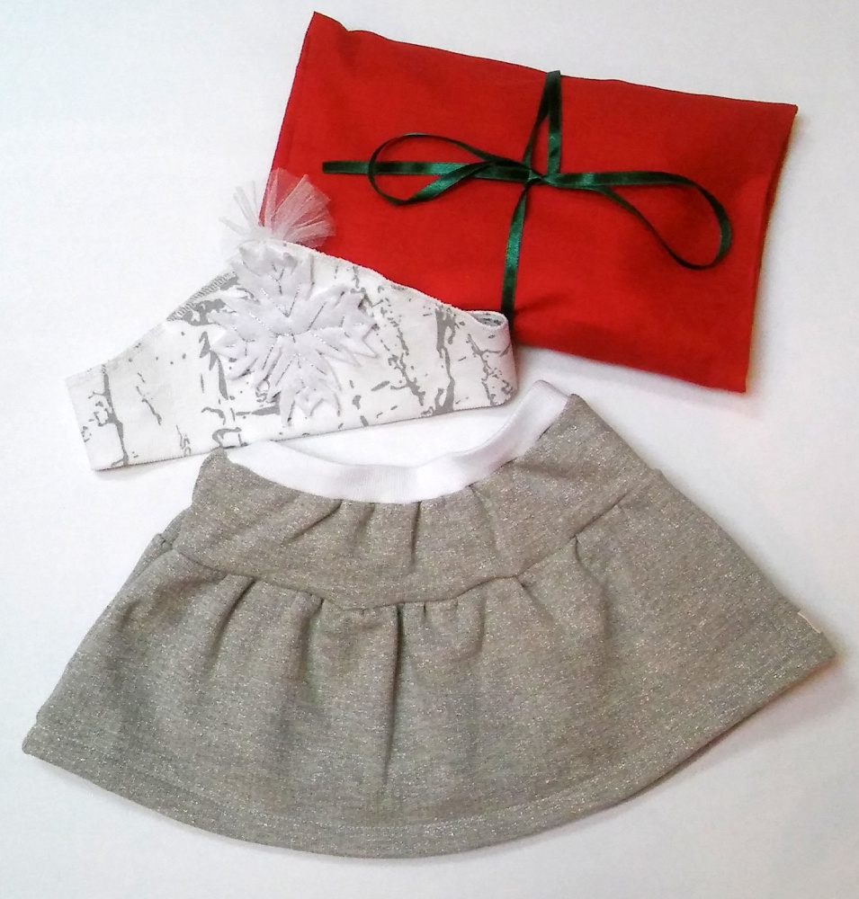 Snaigės karūna ir sijonas