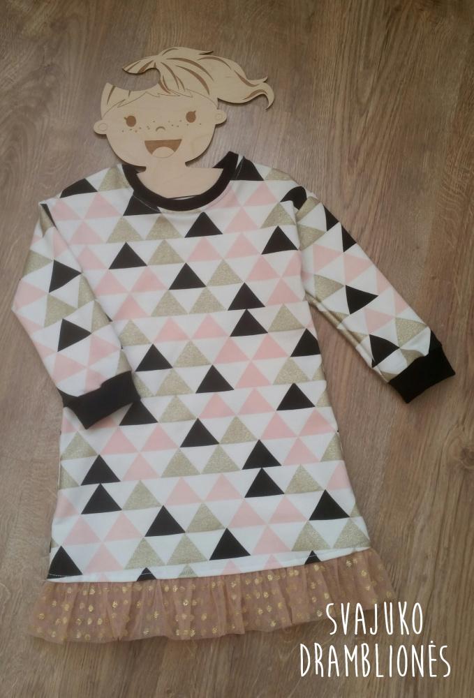 """Suknelė """"Trikampiukai"""""""